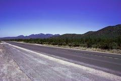 Estrada romântica vazia Foto de Stock