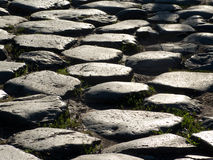 Estrada romana antiga Fotografia de Stock