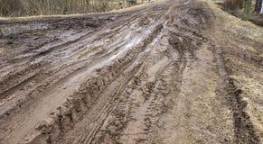 estrada ruim Fotografia de Stock