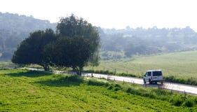 Estrada rural Imagem de Stock Royalty Free