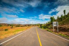 Estrada rural 4 Imagem de Stock Royalty Free