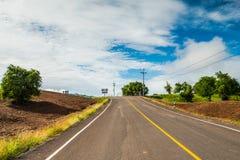 Estrada rural 5 Fotografia de Stock