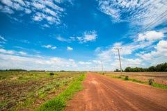 Estrada rural 2 Fotos de Stock Royalty Free