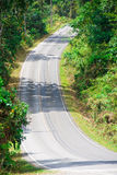 Estrada secundária íngreme Fotos de Stock