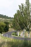 Estrada secundária foto de stock