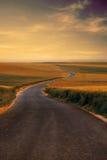 Estrada secundária Foto de Stock Royalty Free