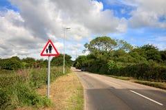 Estrada secundária. Fotografia de Stock