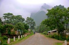 A estrada secundária Fotografia de Stock Royalty Free