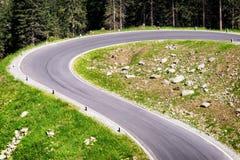 Estrada secundária Imagens de Stock