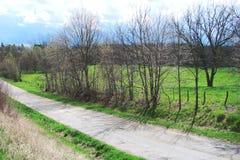 Estrada secundária Fotos de Stock