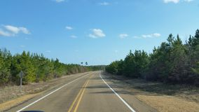 Estrada secundária de Arkansas Foto de Stock