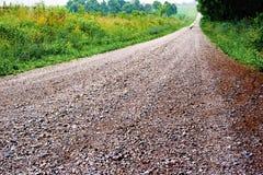 Estrada secundária longa Fotografia de Stock Royalty Free