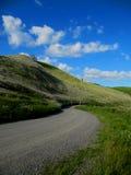 Estrada secundária no outono Foto de Stock