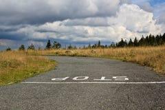 Estrada secundária rural Imagens de Stock
