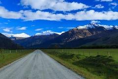 Estrada secundária traseira Fotografia de Stock