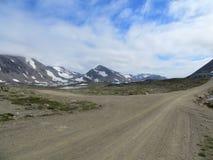Estrada secundária do norte Fotos de Stock