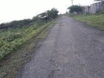 Estrada silenciosa Fotografia de Stock