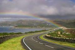 Estrada a Skye Imagens de Stock