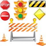 Estrada sob a construção Imagens de Stock