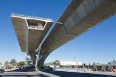 Estrada sob a reconstrução Fotografia de Stock