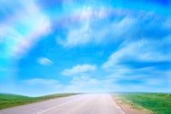 Estrada solar Foto de Stock