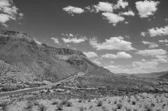 Estrada solitária Fotografia de Stock Royalty Free