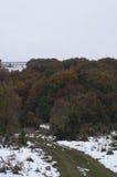 Estrada suja nas montanhas Imagem de Stock Royalty Free