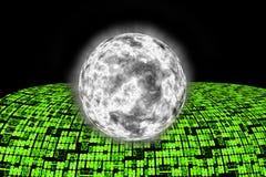 Estrada super da informação de Internet ao mundo. Imagem de Stock