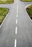 Estrada transversaa na maneira Fotografia de Stock