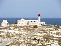 Estrada tunisina fotografia de stock royalty free