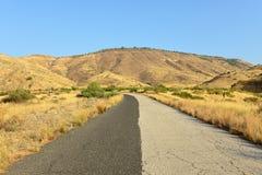 Estrada Two-tone Imagem de Stock