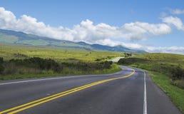 estrada upcounty Imagem de Stock