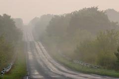 Estrada vazia Imagem de Stock