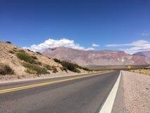 Estrada vazia - Ruta 52 Imagem de Stock Royalty Free