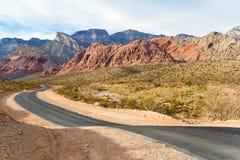 Estrada velha, Nevada do sul Imagens de Stock