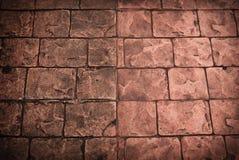 Estrada velha pavimentada com as pedras do godo Fotografia de Stock