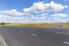 Estrada a viajar Foto de Stock Royalty Free
