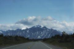 A estrada viajou menos Imagens de Stock Royalty Free