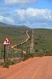 A estrada viajou menos Imagem de Stock Royalty Free