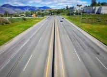 Estradas acima fotografia de stock
