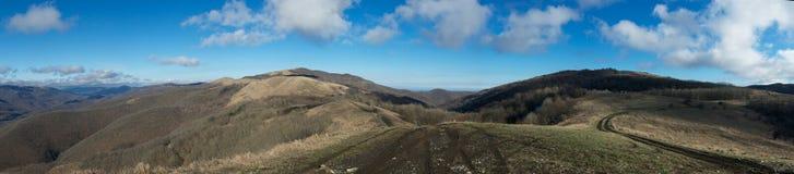 Estradas da montanha. Imagens de Stock