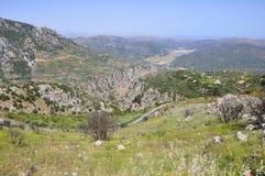 Estradas da montanha Foto de Stock