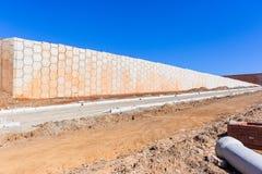 Estradas das paredes dos desenvolvimentos da construção Imagem de Stock