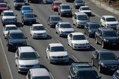 Estradas de Auckland imagens de stock royalty free
