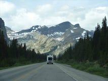 Estradas de Banff imagem de stock royalty free