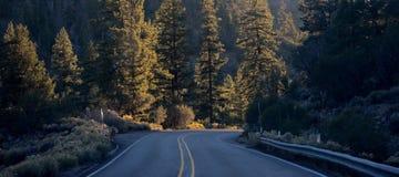 Estradas de Big Bear Imagem de Stock