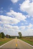 Estradas de exploração agrícola Fotografia de Stock
