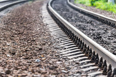 Estradas de ferro Imagem de Stock Royalty Free