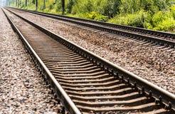 Estradas de ferro Foto de Stock
