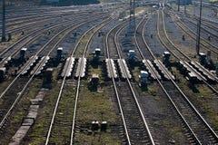 Estradas de ferro Imagens de Stock